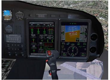 Glass Cockpit rediseñado. (Fuente propia 2018)